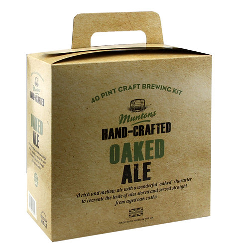 Muntons Hand-Crafted Oaked Ale