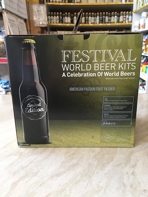 Festival American Passion Fruit Pilsner (Limited Edition)