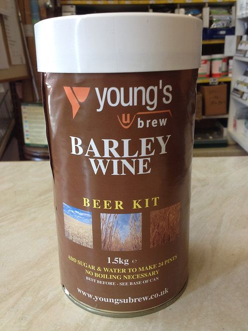 Youngs Harvest Barley Wine 24pt
