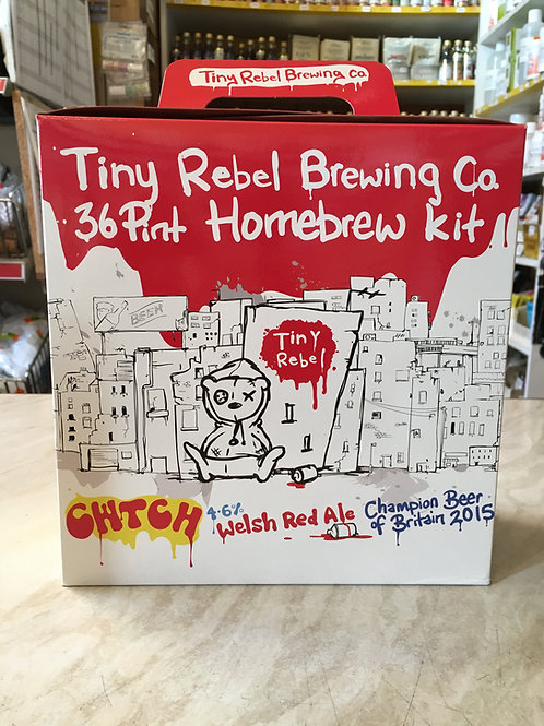 "Tiny Rebel ""CWTCH"" Welsh Red Ale 3kg (36pt)"