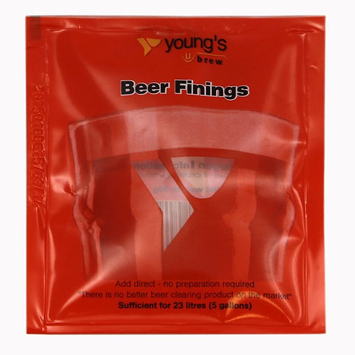 Young's Beer Finings - Treat 23L
