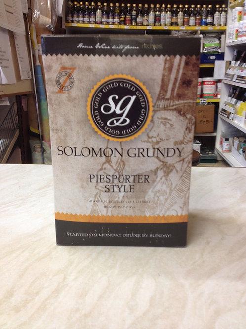 Solomon Grundy Piesporter Style 30 bottle kit
