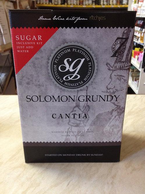 Solomon Grundy Platinum Cantia 30 bottle kit