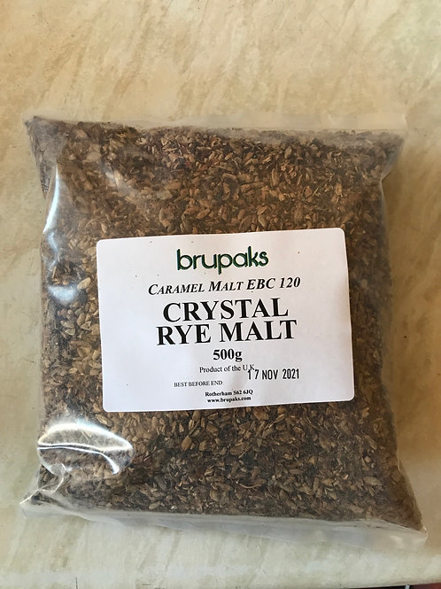 Crystal Rye Malt (500g crushed)