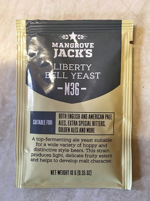 Mangrove Jack's Craft Series Yeast - Liberty Bell Ale (10g)