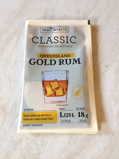 Classic Queensland Gold Rum (Makes 2.25L)