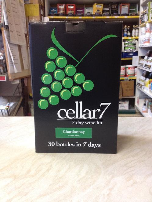 Cellar 7 Chardonnay 30 bottle kit