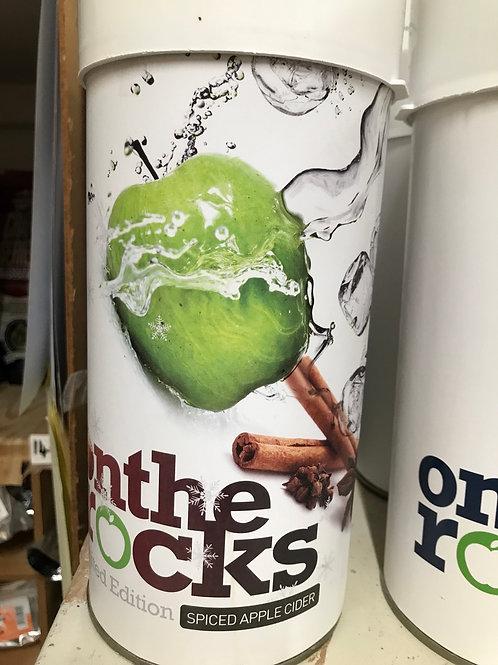 On the Rocks Spiced Apple Cider