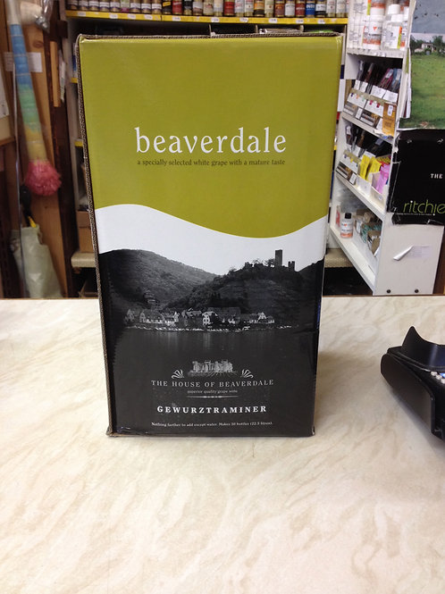 Beaverdale Gewurtzraminer 30 bottle kit