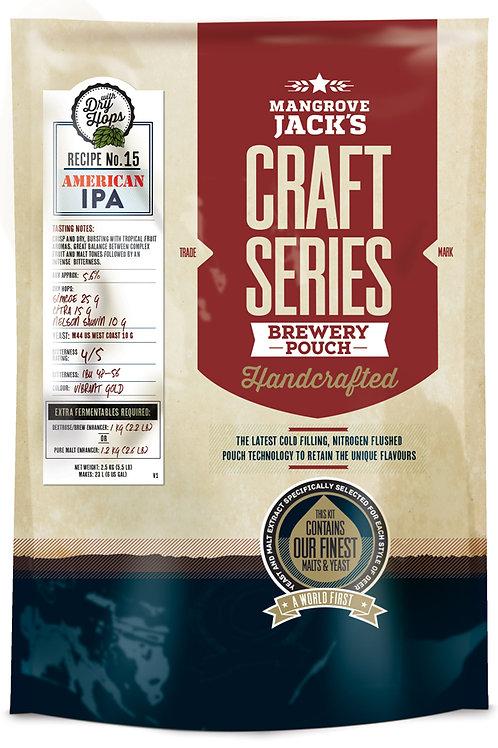 Mangrove Jack's Craft Series American IPA + dry hops - 2.5kg
