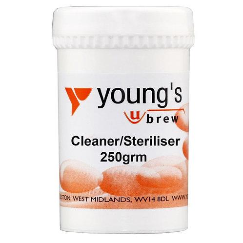 Young's Cleaner/Steriliser 250 grm