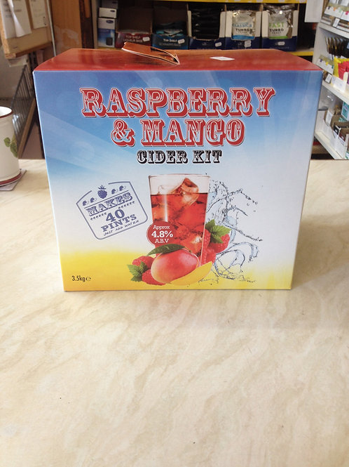 Raspberry & Mango Cider Kit 40pt
