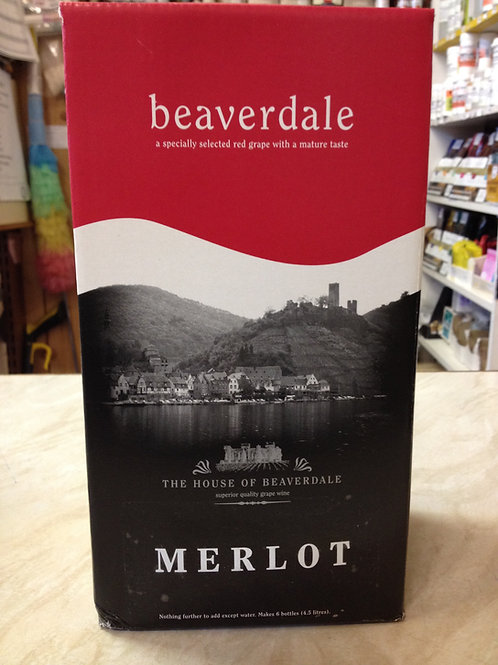 Beaverdale Merlot 6 Bottle Kit