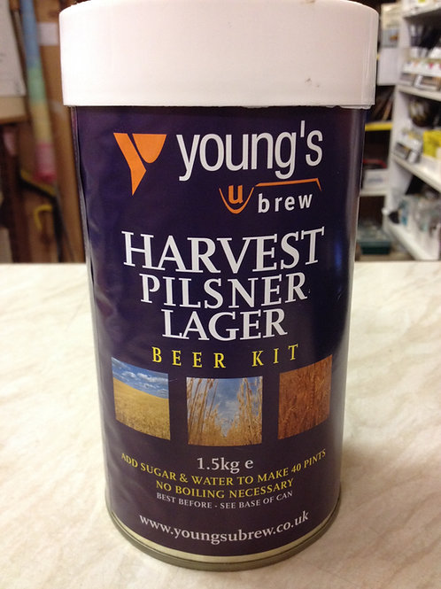Youngs Harvest Pilsner 40pt