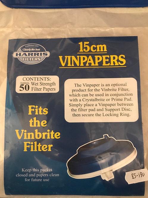 Harris Vinpapers 15cm