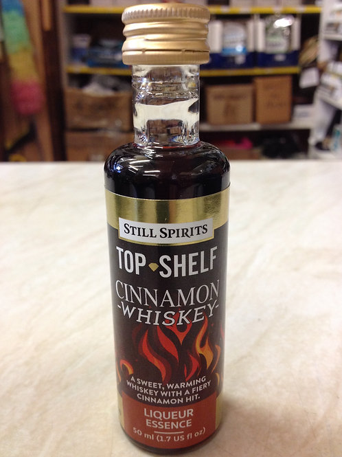 Still Spirits Top Shelf Cinnamon Whiskey Liqueur