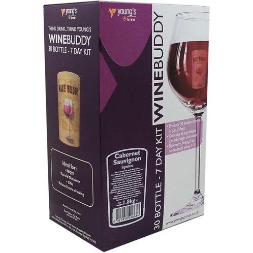 WineBuddy Cabernet Sauvignon 30 bottle kit
