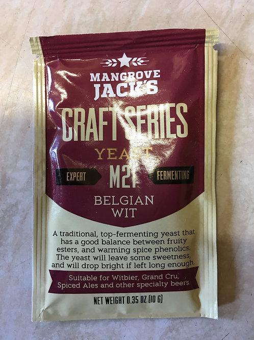 Mangrove Jack's Craft Series Yeast - Belgian Wit (10g)