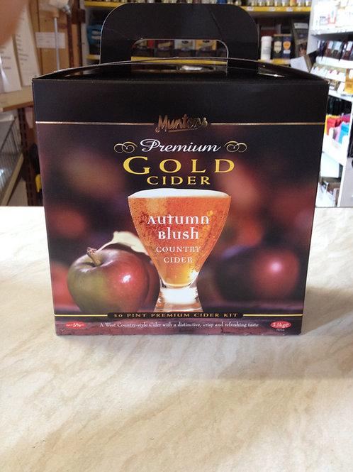 Muntons Premium Gold Autumn Blush Cider 3.5kg