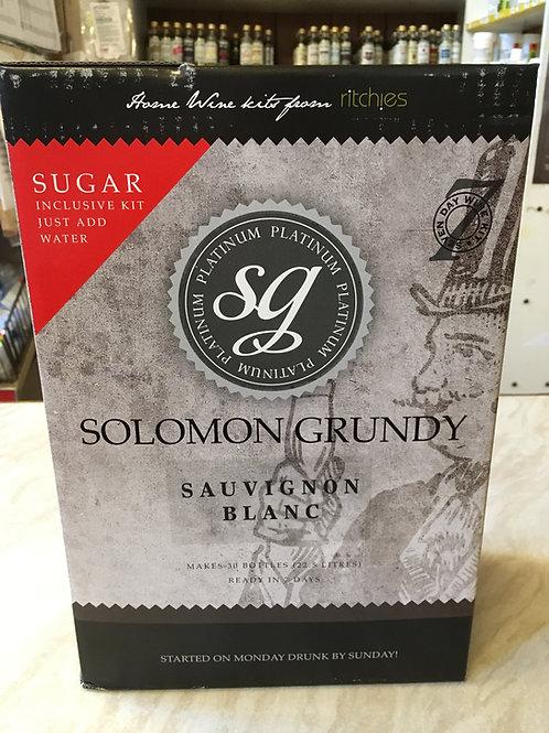 Solomon Grundy Platinum Sauvignon Blanc