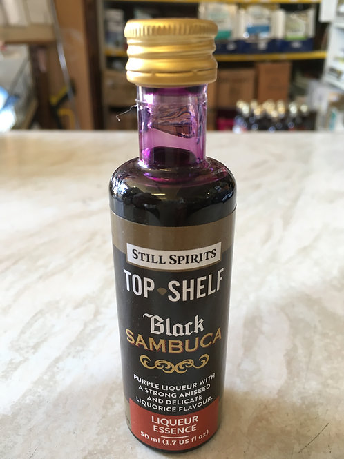 Still Spirits Top Shelf Black Sambuca