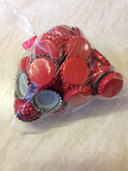 Crown Caps (100 red)
