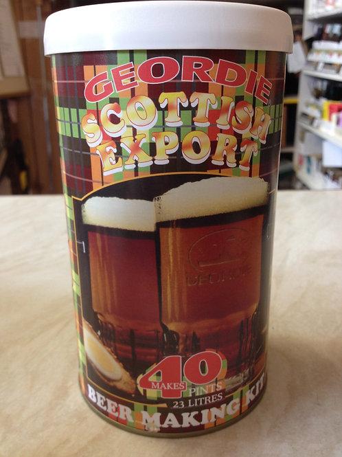 Geordie Scottish Export Bitter 40pt