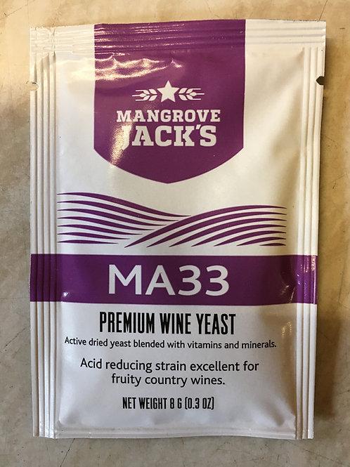 Mangrove Jacks MA33 Premium Wine Yeast