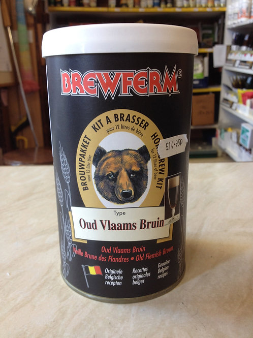 Brewferm Old Bruin(Dark Brown)(2.6Gall)