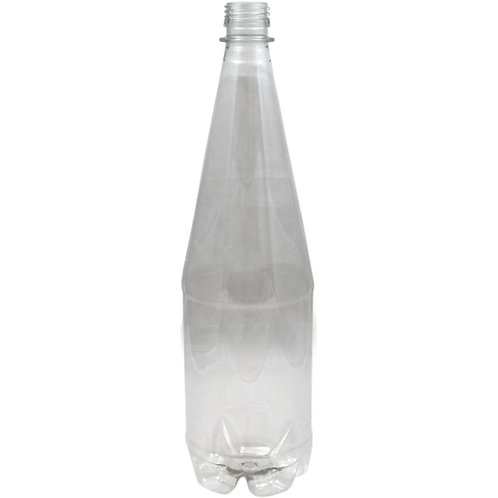 PET Bottles 1 Litre Clear Carton (24)