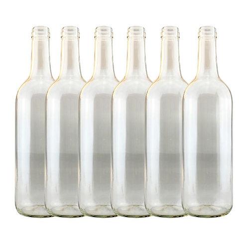 Single Clear Wine Bottle (1)
