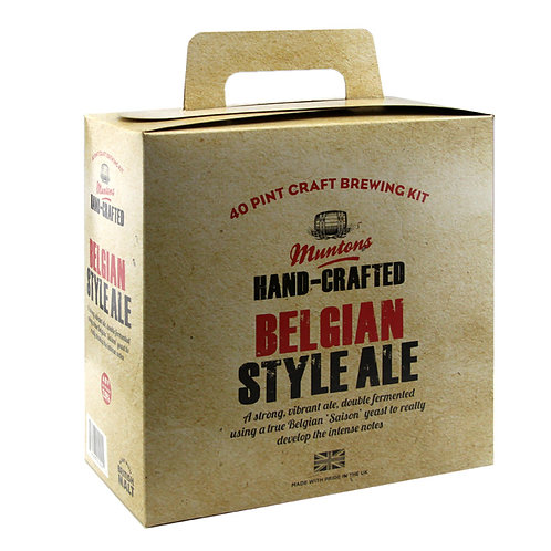Muntons Hand Crafted Belgian Style Ale 3.6kg
