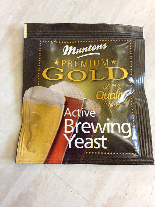 Muntons Gold Premium Active Brewing Yeast