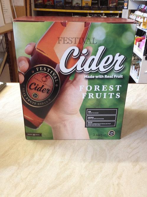 Festival Forest Fruits Cider