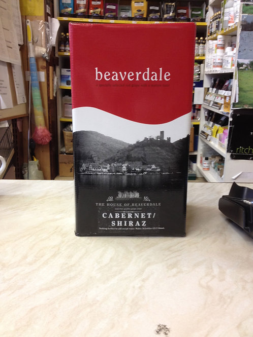 Beaverdale Cabernet Shiraz 30 bottle kit (6 litres)