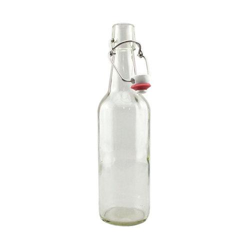 Clear Swing Top Bottle 500ml