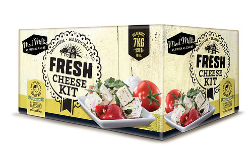 Mad Millie Fresh Cheese Kit (Past BBE date)