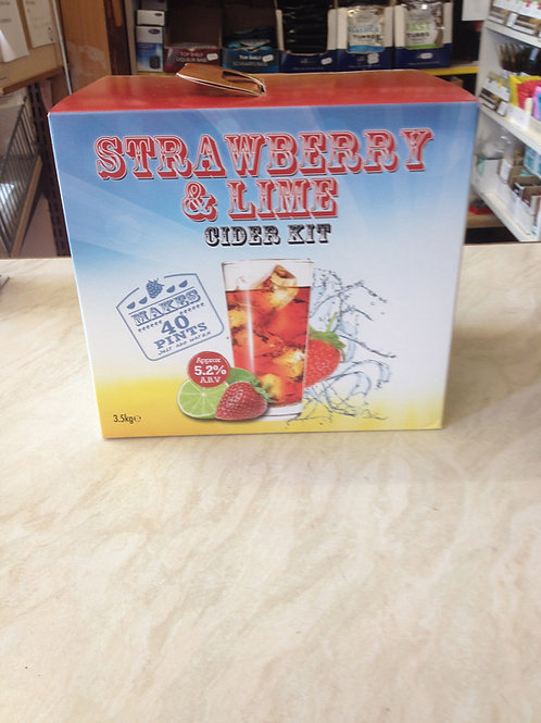 Strawberry & Lime Cider Kit 40pt