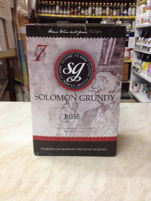 Solomon Grundy Rose 30 bottle kit