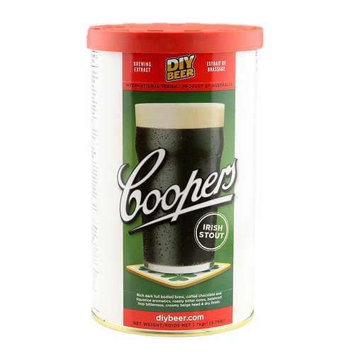 Coopers Brewmaster Irish Stout 1.7Kg