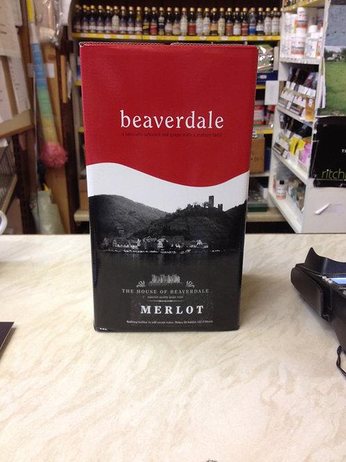 Beaverdale Merlot 30 bottle kit (6 Litres)