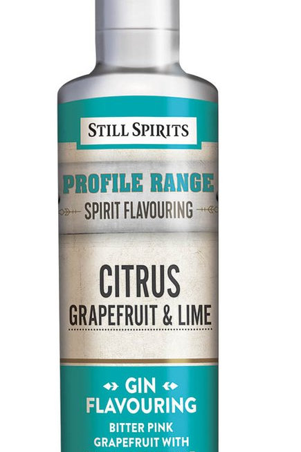 Still Spirits Profile Range -  Citrus Grapefruit and Lime