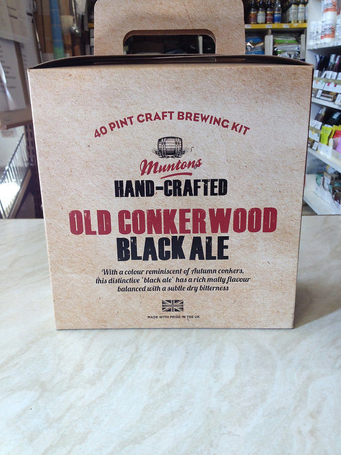 Muntons Old Conkerwood Black Ale