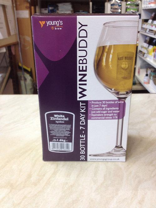 WineBuddy White Zinfandel 30 bottle kit