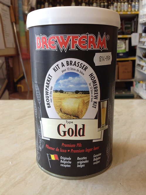 Brewferm Gold (2.6Gall) Euro Lager