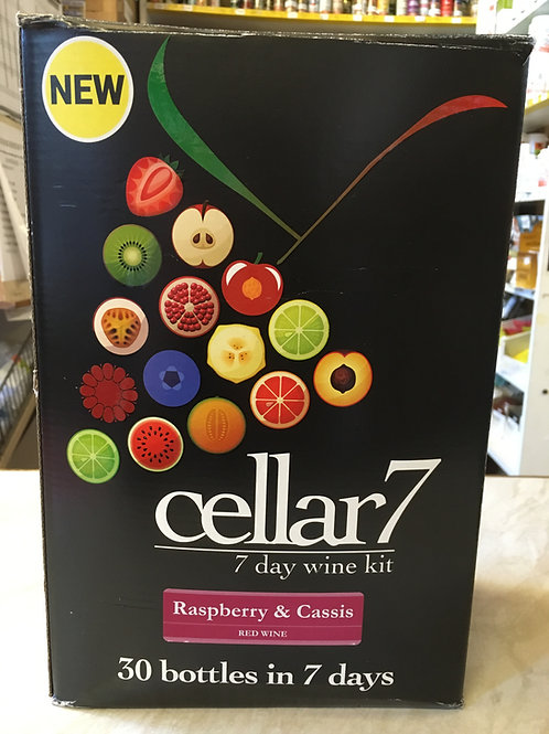 Cellar 7 Fruit Raspberry & Cassis