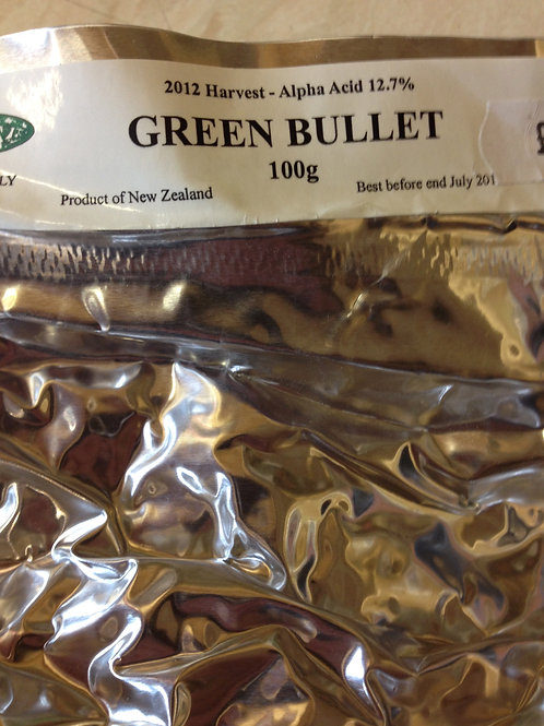 Green Bullet (NZ) Whole Hops 100grams