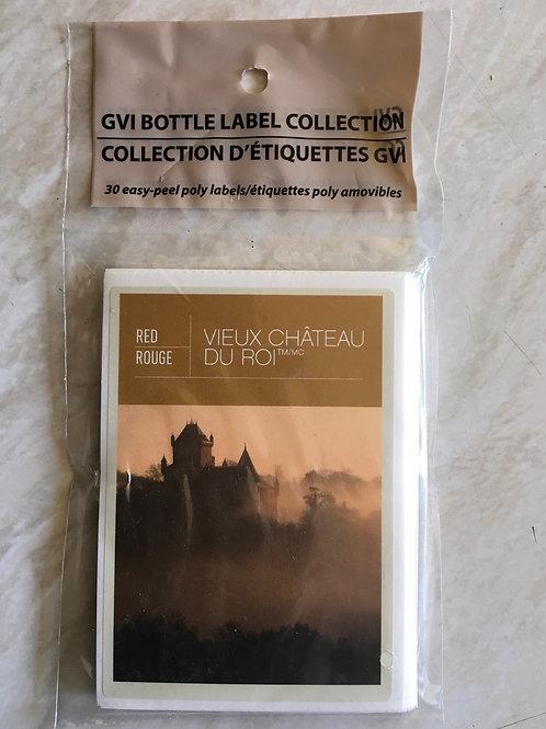 Vieux Chateau Du Roi labels 30