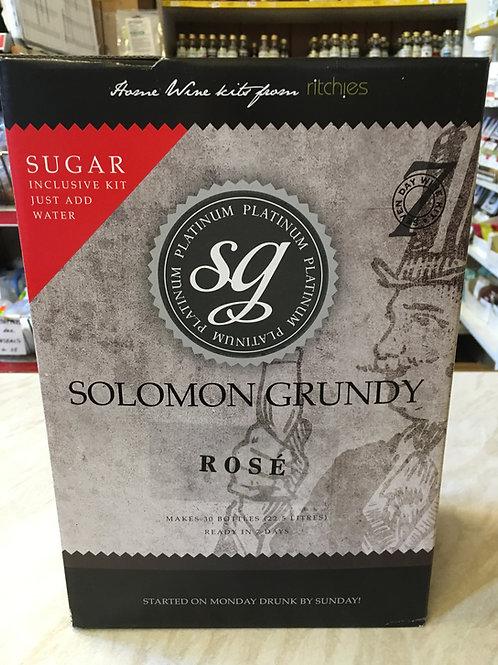 Solomon Grundy Platinum Rose
