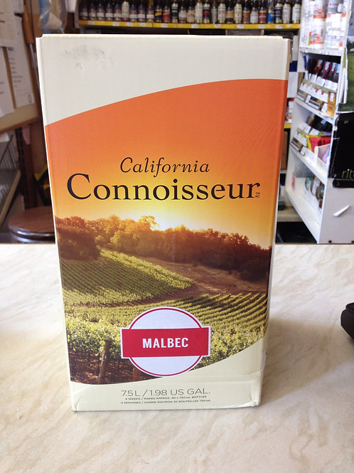 California Connoisseur Malbec 30 bottle - FREE POSTAGE